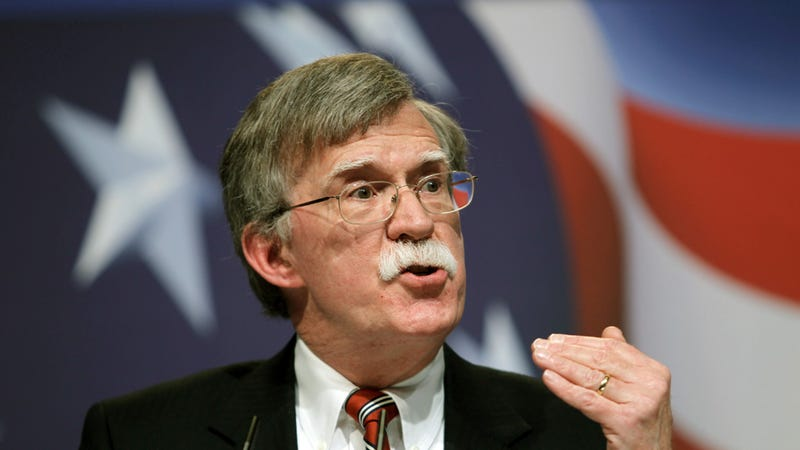 John Bolton Still Weighing Hilarious Presidential Run