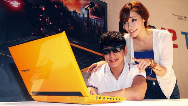 This Gaming Laptop Is So Bright, You Gotta Wear 3D Shades