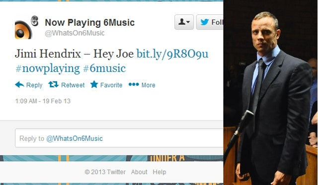 BBC Apologizes for Playing 'Hey Joe' Right After Report on Oscar Pistorius