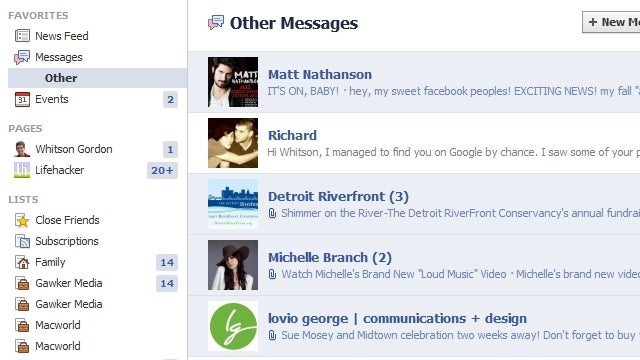 Your Facebook Has Two Inboxes, and You've Probably Missed Messages from the Second