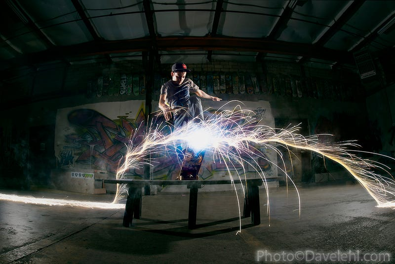 Shooting Challenge: Dual Sparkler Exposures