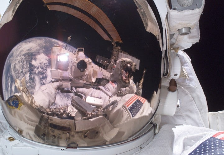 Selfies In Space!