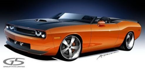 Group Five Bringing Another Challenger Convertible To SEMA