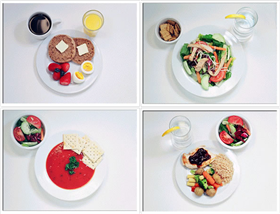 See what 300- to 400-calorie meals look like