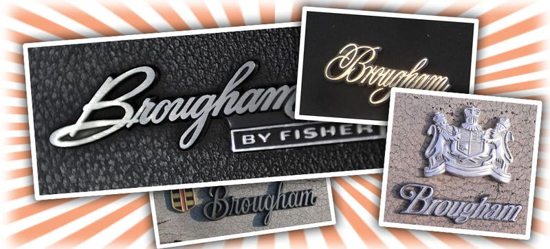 What's That Car Word Mean? 'Brougham' Edition