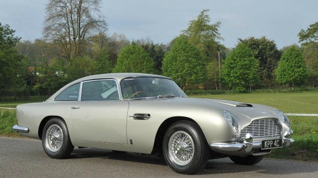 George Harrison's 1965 Aston Martin DB5 brings $549,045 at auction