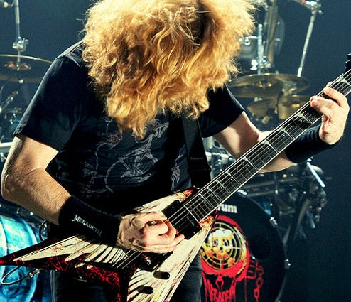 "Megadeth Thinks ""Dinosaur Bands"" Who Don't Do Games Are Stupid"