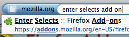 "Four Extensions That Tweak Firefox 3's ""AwesomeBar"""