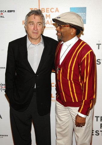 Lee and De Niro Learning ABC's for Showtime
