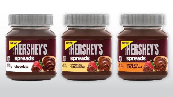 Hershey's Is Making Their Own Chocolate Spread to Take Down Nutella