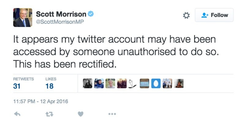 Australian Politician Rocked By Twitter Scandal That Doesn't Even Involve Sex