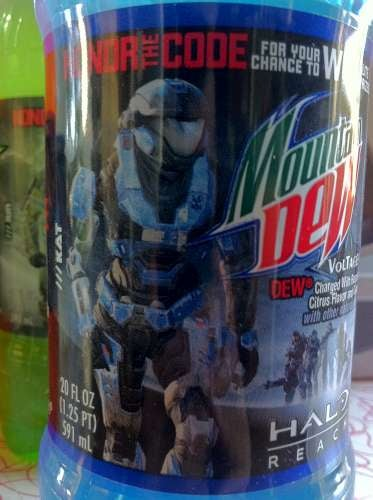 Bungie Made Halo: Reach, Look Mountain Dew and Doritos!