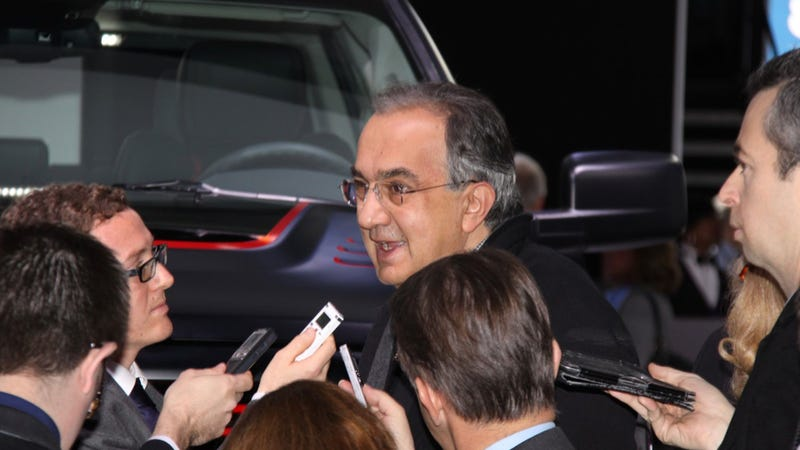 Fiat's Sergio Marchionne: American Alfa Romeos Must Have 'Wop Engines'