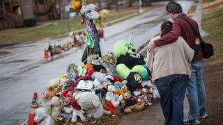 """Ferguson Police Spokesman Calls Mike Brown Memorial """"Pile of Trash"""""""