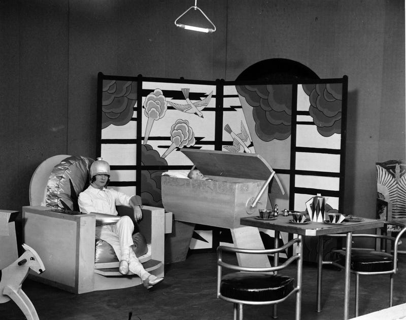 This Was The Nursery of The Future in 1930
