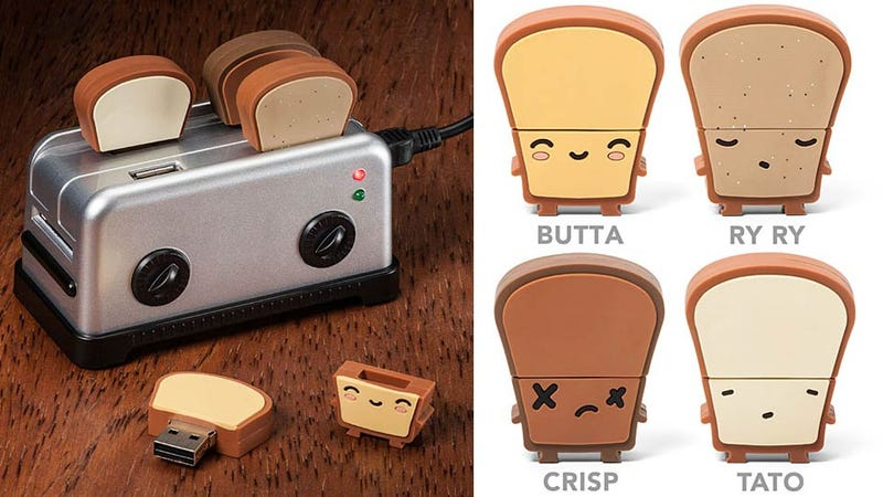 Tiny Toaster USB Hub Is So Adorable You'll Want To Vomit