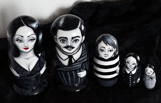 Why Can't We Get Addams Family Nesting Dolls Everywhere?
