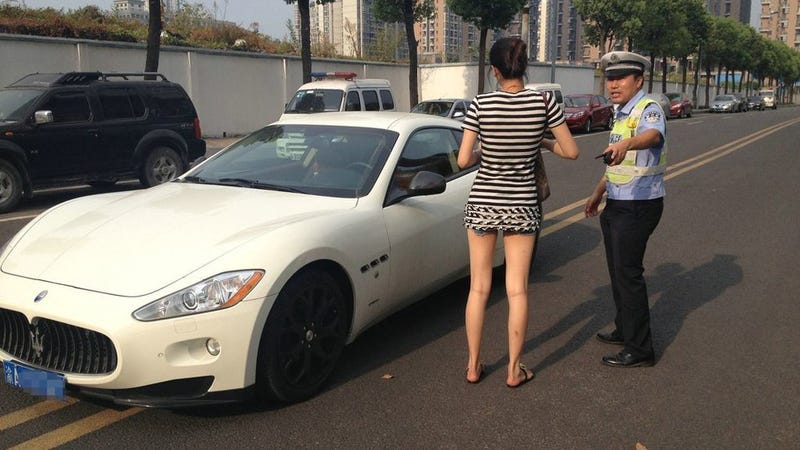 She Parked Mom's $327,000 Maserati In The Middle Of The Street