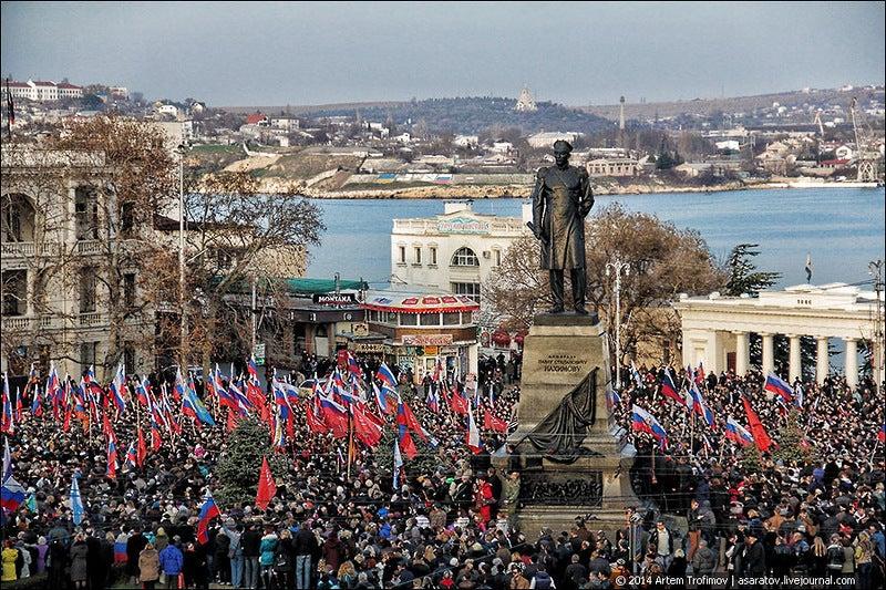 Szevasztopol de facto kilépett Ukrajnából