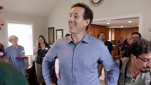 Rick Santorum Raising Money Off of His 'Google Problem'