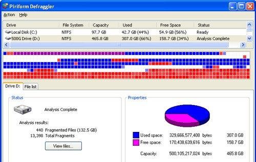 Best Disk Defragmenter: Defraggler