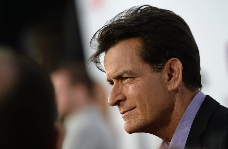 Charlie Sheen Goes Off on Rihanna Because She Snubbed His Fiancée