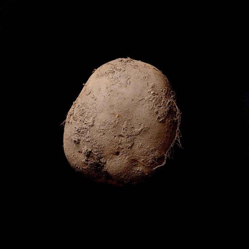 Esta fotografía de una patata se ha vendido por un millón de euros