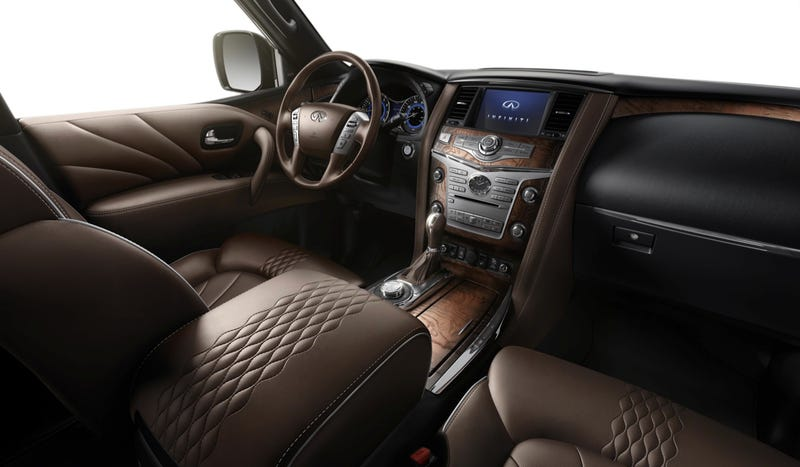 In Defense Of The 2015 Infiniti QX80 And Its Awesome Interior