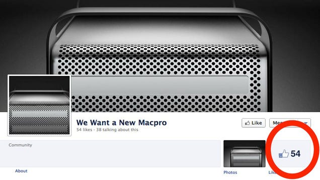 Mac Pro Fans Launch Sad Facebook Campaign For Upgrade