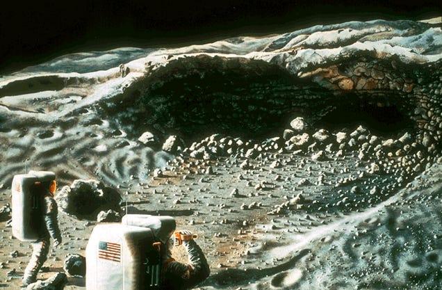 Lunar Dreams: 40 Classic Moon Exploration Paintings