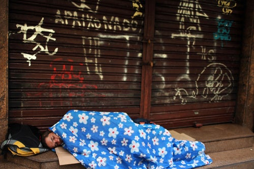 New York City Takes Away Only Good Part of Being Homeless