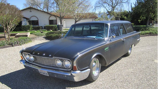 Modified 1960 Ranch Wagon Is Built To Cruise