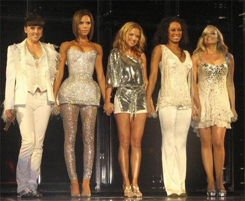 The Spice Girls: They're Back, And Not So Bad