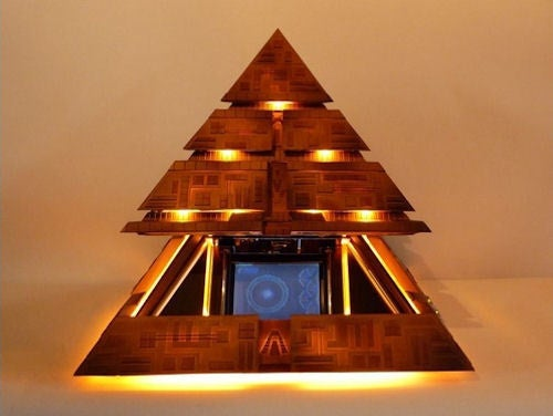 Gallery: Amazing Stargate Pyramid Case Mod