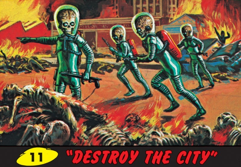 Hang the Martian invasion on your living room wall