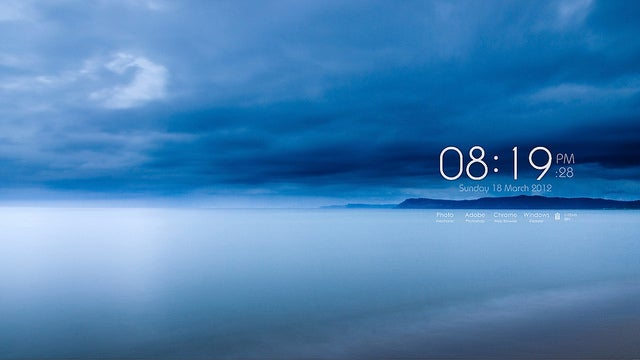 The Foggy Morning Desktop