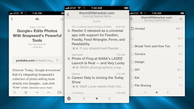Reeder 2 Brings Back iPad Compatibility, Support for Feedly, and More