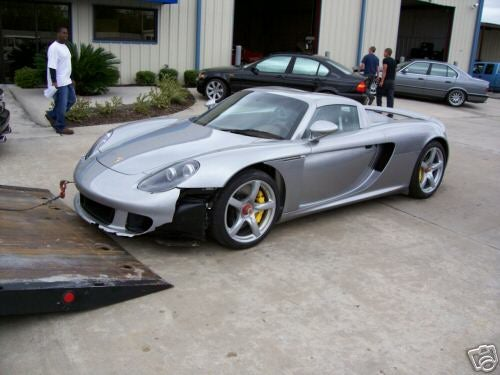 That'll Buff Right Out: Redline Porsche Carrera GT for Sale on eBay