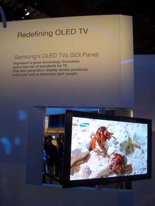"Samsung 14.1-Inch and 31-Inch OLED TVs Are Now ""Production Ready"""