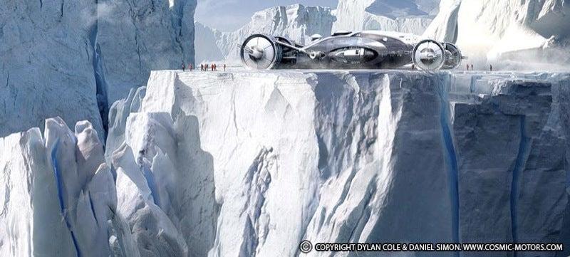 Tron 2 Vehicle Designer Daniel Simon Is an Intergalactic Hardware Visionary