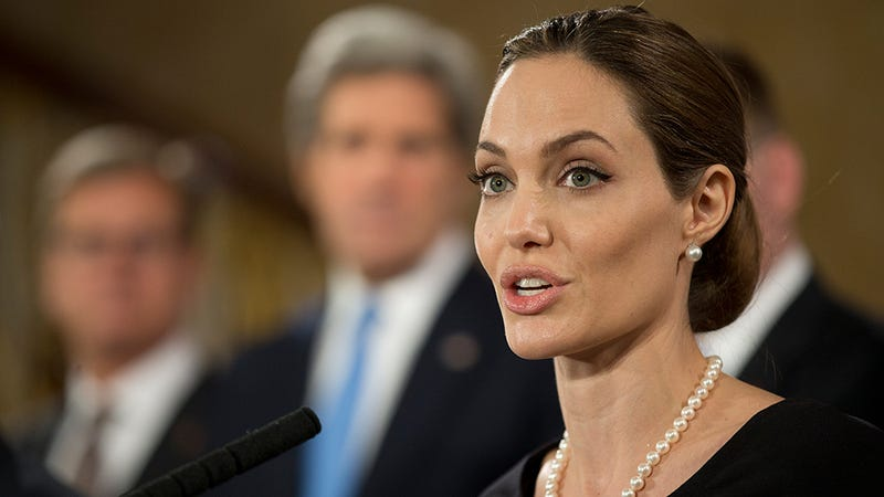 Saint Angelina Schools Fools About Foreign Affairs, Looks Flawless While Doing So