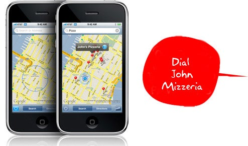 iPhone Gets Voice Dialing With iSpeak