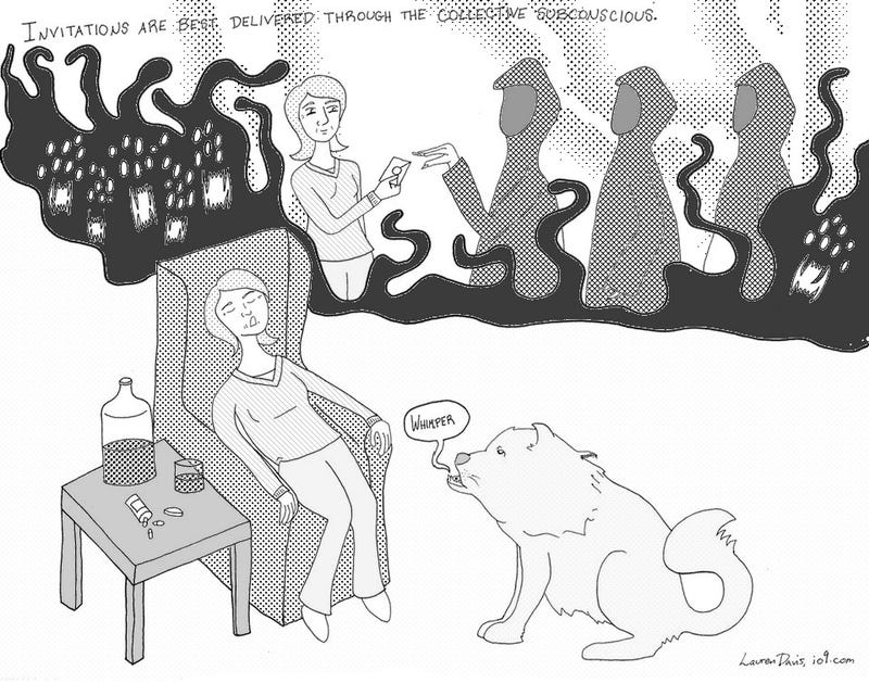 The Cartoon Martha Stewart Guide to a Merry Cthulhumas