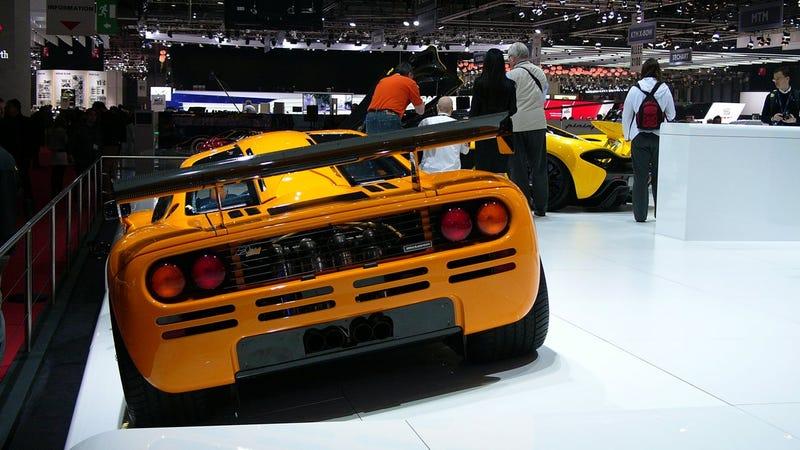 McLaren Did Bring An F1 To Geneva!