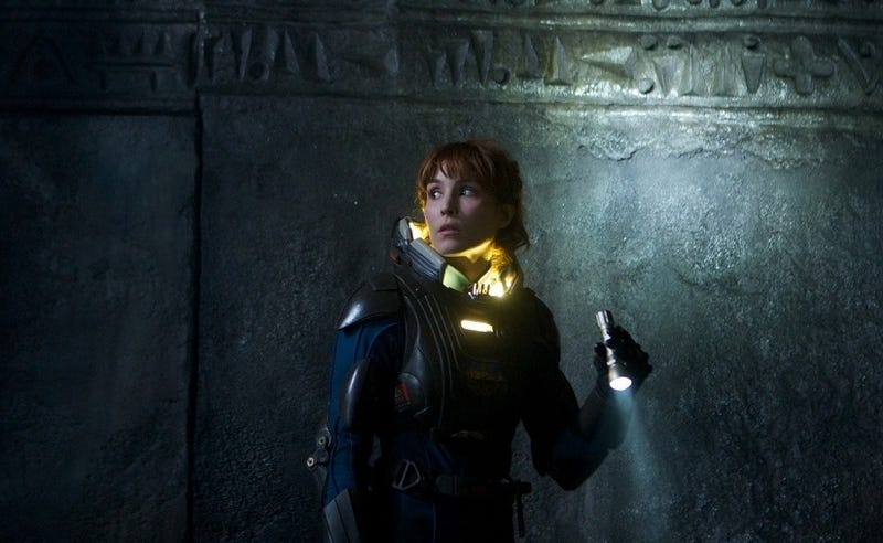 Must read: Noomi Rapace's SMS conversation with the aliens in Prometheus
