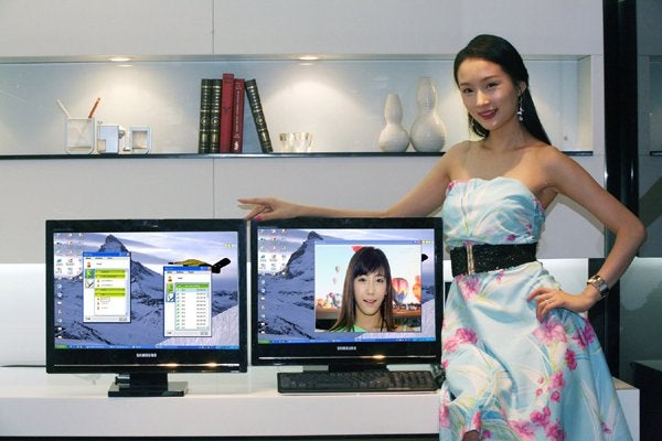 Samsung LCD Monitors Support Standalone Skype, VoIP