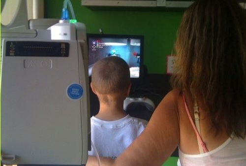 Gaming Before Chemo, A Child's Escape