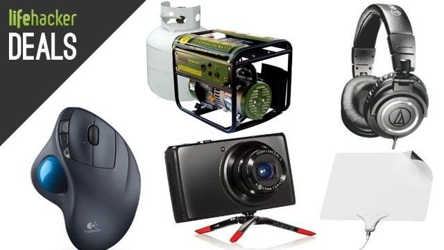 Audio Technica ATH-M50s, LifeProof Cases, Mohu Leaf, Tiny GorillaPod