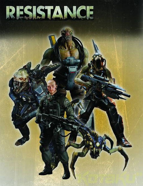 You Wanted Resistance 2 Action Figures, You Got 'Em