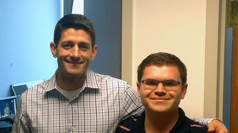 Paul Ryan's Campaign Intern Indicted for Cyberstalking